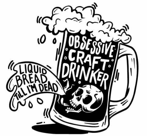 TheDesignLab Obsessive Craft Drinker