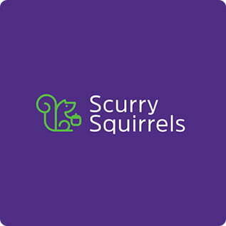 TheDesignLab Scurry Squirrels
